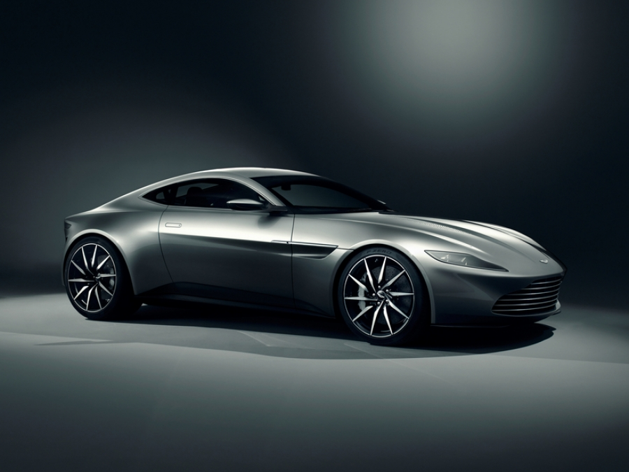 Aston Martin DB10 is the new James Bond vehicle for Spectre movie.